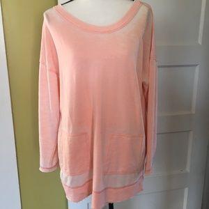 Soft Surroundings Sweatshirt Tunic Petite Large
